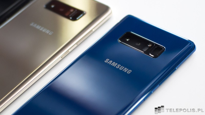 Galaxy Note8 lentamente gana mercados globales