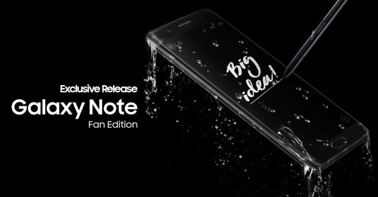 Galaxy Note FE el 25 de octubre saldrá a la venta en Malasia