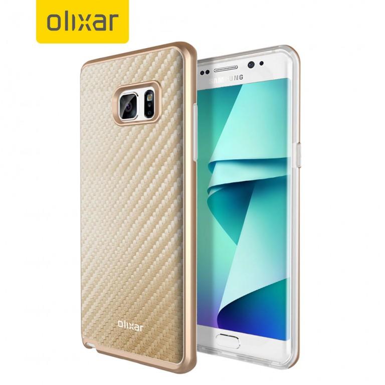 Casos del Samsung Galaxy Note 7 confirman que tendrá una pantalla curvada