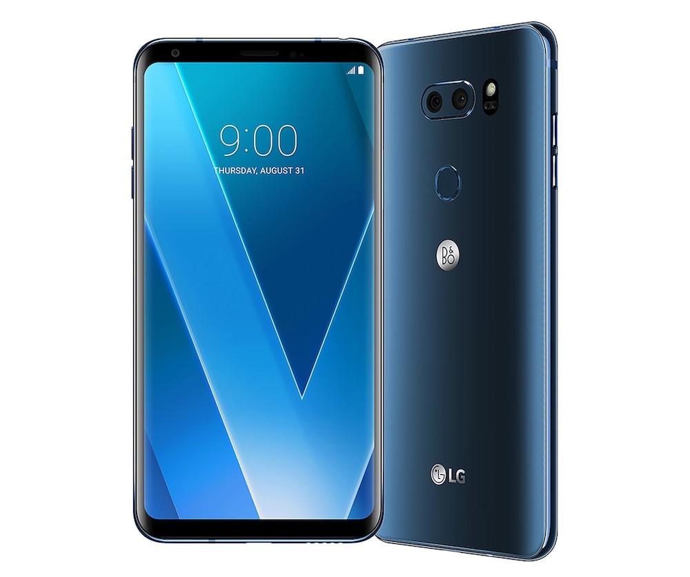 Tres teléonfos de gama alta de LG en 2018