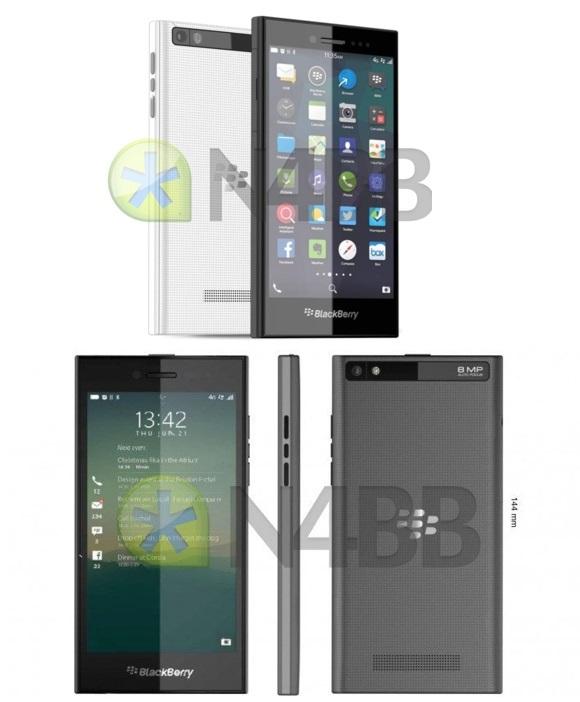 Las imágenes y especificaciones de BlackBerry Z20 Río hacen las