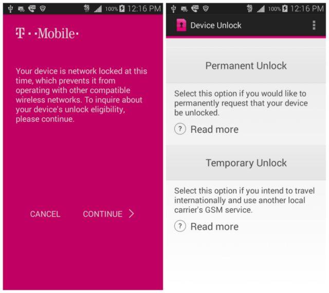 Device Unlock App