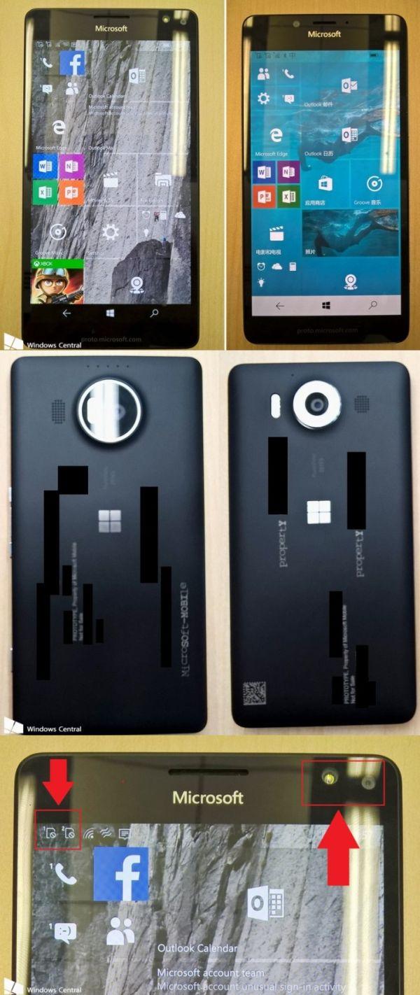 Lumia 950 también vendrá con el triple flash de LED, nuevas