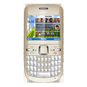Quite el bloqueo de sim con el código del teléfono Nokia C3