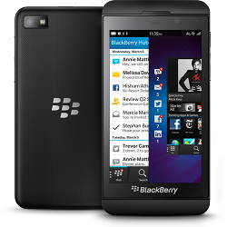 Quite el bloqueo de sim con el código del teléfono Blackberry Z10