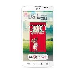 Quite el bloqueo de sim con el código del teléfono LG L80 Dual SIM