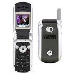 Quite el bloqueo de sim con el código del teléfono Motorola V265