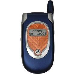 Quite el bloqueo de sim con el código del teléfono Motorola V295