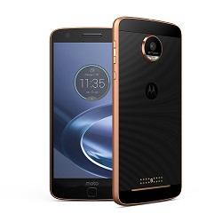 Quite el bloqueo de sim con el código del teléfono Motorola Moto Z Force