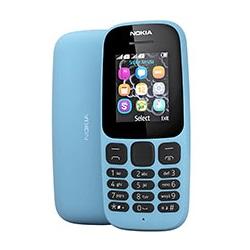 Quite el bloqueo de sim con el código del teléfono Nokia 105 (2017)