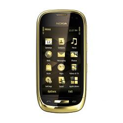 Quite el bloqueo de sim con el código del teléfono Nokia Oro