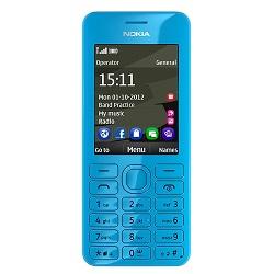 Quite el bloqueo de sim con el código del teléfono Nokia 206