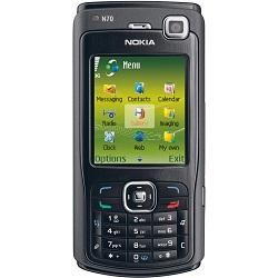Quite el bloqueo de sim con el código del teléfono Nokia N70 Music Edition