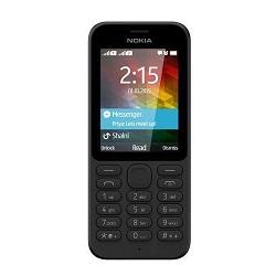 Quite el bloqueo de sim con el código del teléfono Nokia 215