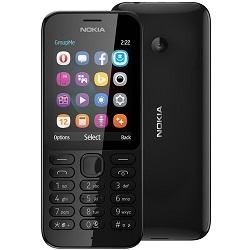 Quite el bloqueo de sim con el código del teléfono Nokia 222