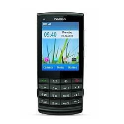 Quite el bloqueo de sim con el código del teléfono Nokia X3 Touch and Type