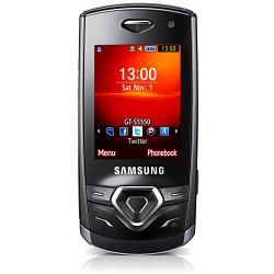 Quite el bloqueo de sim con el código del teléfono Samsung S5550 Shark 2