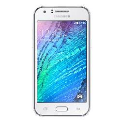 Quite el bloqueo de sim con el código del teléfono Samsung Galaxy J1