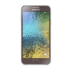 Quite el bloqueo de sim con el código del teléfono Samsung Galaxy E5