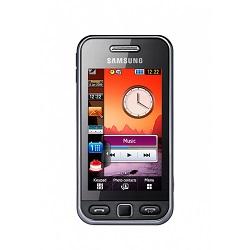 Quite el bloqueo de sim con el código del teléfono Samsung GT-S5230