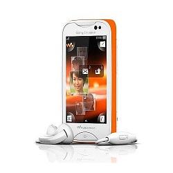 Quite el bloqueo de sim con el código del teléfono Sony-Ericsson Mix Walkman