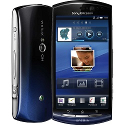 Quite el bloqueo de sim con el código del teléfono Sony-Ericsson XPERIA Neo
